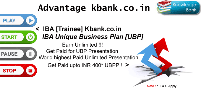 Kbank.co.in : Planet first get paid for presentation