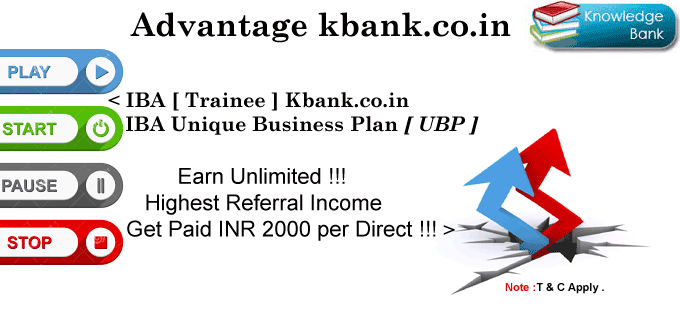 Kbank.co.in : Get paid Rs. 2000 per direct.