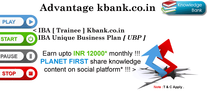 Kbank.co.in : Planet first get paid to share on social media sites