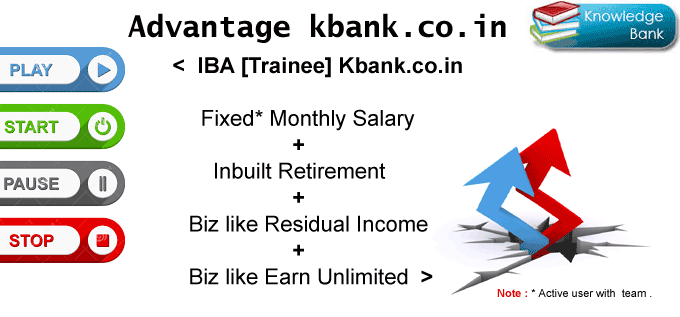 Kbank.co.in : Fixed Salary + Retirement